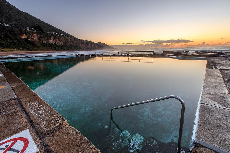 bazén zima