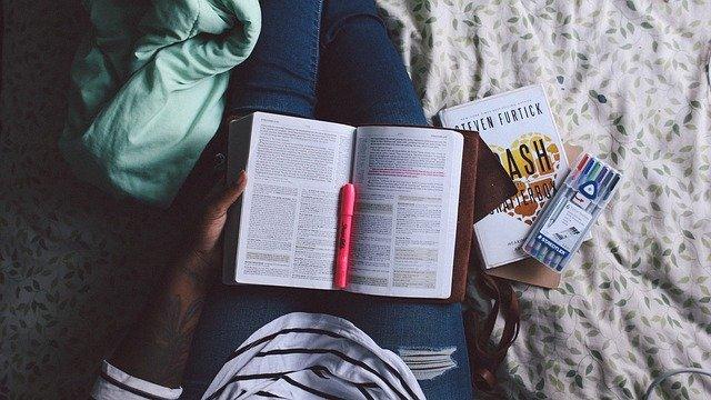 čtení knihy – forma učení